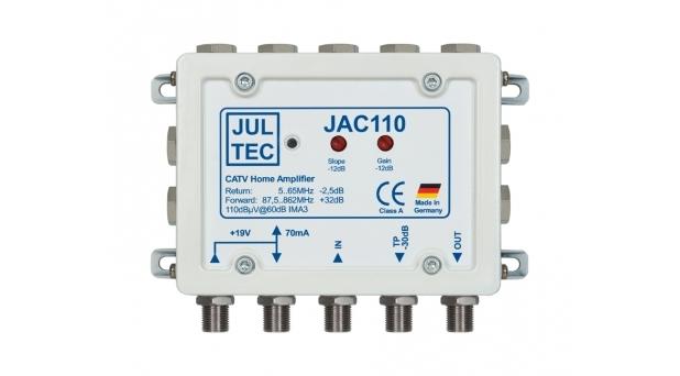 JAC110M / CATV-Verstärker 32 dB Verstärkung - passiver Rückweg